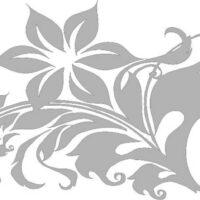 Vinilo Decorativo Flores7