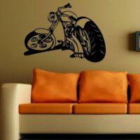Vinilo Decorativo Chopper