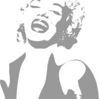 Vinilo Decorativo Marilyn Monroe2