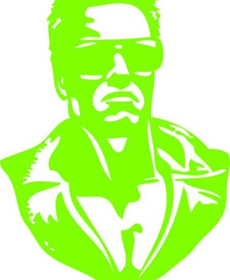 Vinilo Decorativo Arnold Schwarzenegger