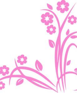 Vinilo Decorativo Flores6