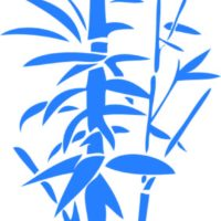 Vinilo Decorativo Caña Bambú
