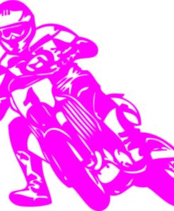 Vinilo Decorativo Motocross2