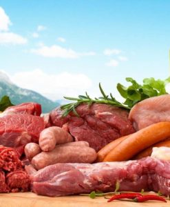 Fotomural Carne