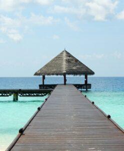 Fotomural Pasarela Playa