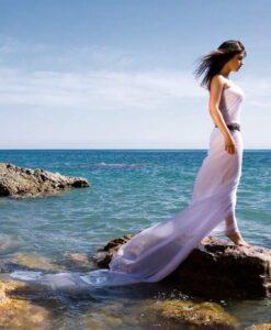 Fotomural Mujer Playa