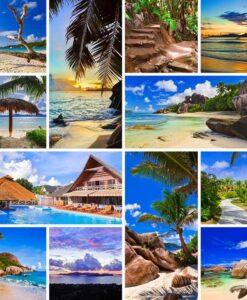 Fotomural Vacaciones Playa