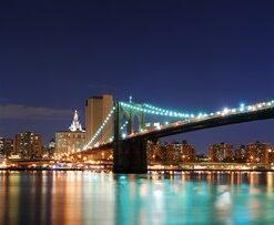 Fotomural Puentes Luminosos