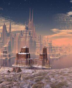 Fotomural Ciudad Futuro