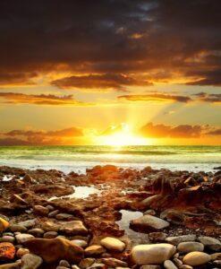 Fotomural Playa Rocosa