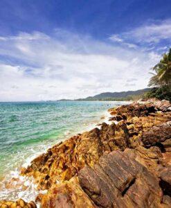 Fotomural Playa Rocosa3