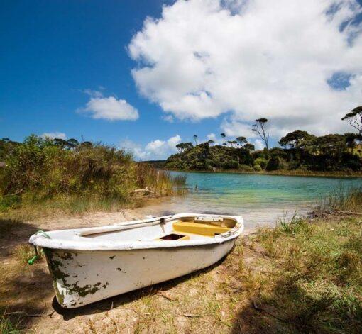 Fotomural Barca Playa2