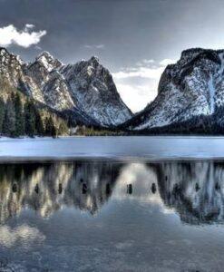 Fotomural Lago Nevado