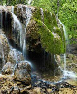 Fotomural Cascada Rocas