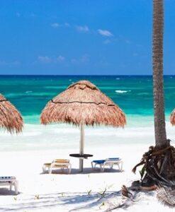 Fotomural Sombrillas Playa