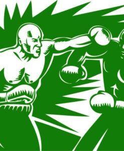 Vinilo Decorativo Boxeo
