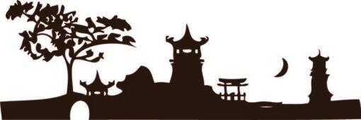 Vinilo Decorativo Ciudad China