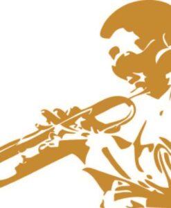 Vinilo Decorativo Louis Armstrong
