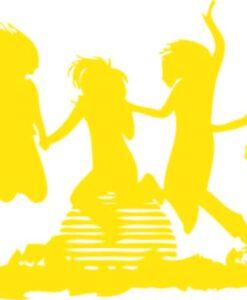 Vinilo Decorativo Chicas bailando