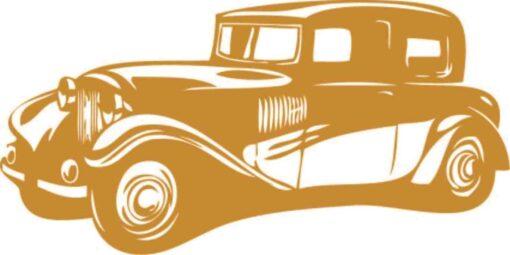 Vinilo Decorativo coche antiguo