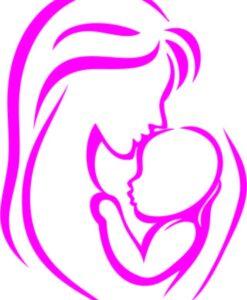 Vinilo Decorativo Madre con niño