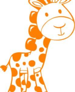 Vinilo Infantil jirafa2
