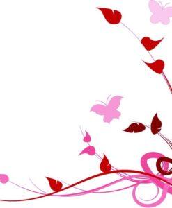Vinilo color Flores4