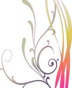 Vinilo Color Hojas2