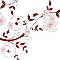 Vinilo color Flores3