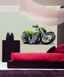 Vinilo color Moto Verde