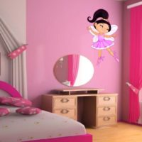 Vinilo Infantil bailarina