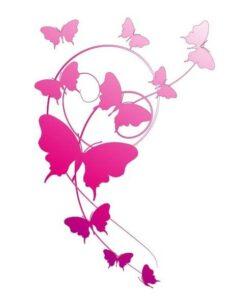 Vinilo color Flores