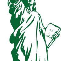 Vinilo Decorativo Estatua Libertad2