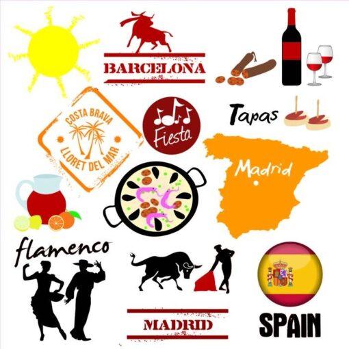 Vinilo Decorativo Turismo España
