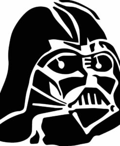 Vinilo Decorativo Casco Darth Vader