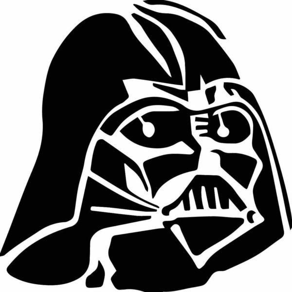Vinilo Decorativo Casco Darth Vader - 840 - Vinilo Decorativo...