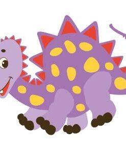 Vinilo Infantil Dinosaurios