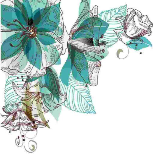 Vinilo color Flores7