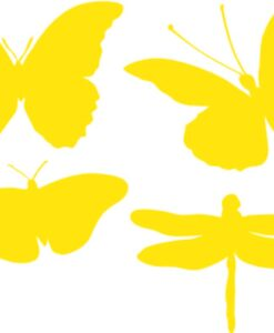 Vinilo Decorativo 4 Mariposas