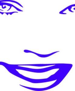 Vinilo Decorativo Rostro Mujer2