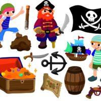 Vinilo Infantil Stiker Piratas