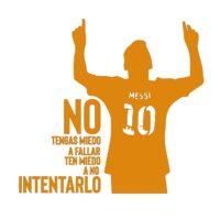 Vinilo Messi