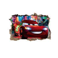 Fotomural Cars Agujero 3D