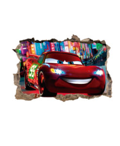 Fotomural Cars Agujero 3D