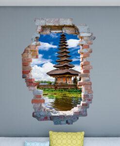 Vinilo Agujero 3D Bali