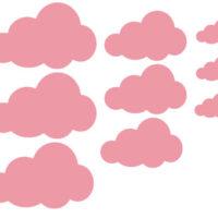 Vinilo Kit Nubes Infantil