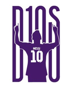 Vinilo Messi D10S 2