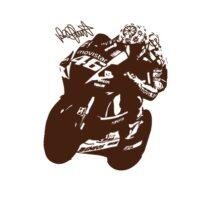 Vinilo Valentino Rossi 2