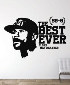 Vinilo Floyd Mayweather Boxeo