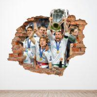Agujero 3D Champions Real Madrid